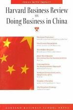 Harvard Business Review on Doing Business in China (Harvard Business Review Pape