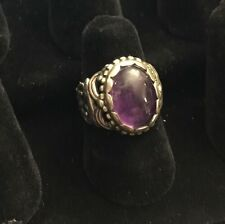 Carolyn Pollack- Relios Sterling Silver .925 Amethyst Ring Size 6