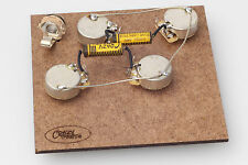 "Prewired Assembly FITS Gibson ® les paul-crazyparts .022uf Pio Caps/CTS ""TVT"" Pots"