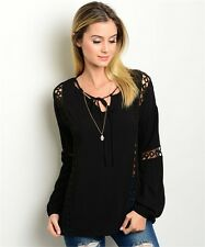 S Boho Gothic Ethnic Hippie Renaissance Peasant Pirate Lolita Gypsy Top Tunic