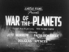 2x LOT 16mm FILM  CLASSIC SCIENCE FICTION UFO  SILENT MOVIES from 1950s