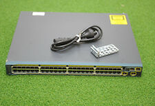 CISCO Catalyst WS-C2960S-48FPD-L Stack-able Ethernet Switch 1YEAR WARRANTY/ INV