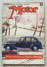 The MOTOR Magazine 27 Dec 1938 27HP Studebaker Tested  International Records No
