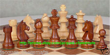 GERMAN KNIGHTS STAUNTON GOLDEN ROSEWOOD CHESS SET - BRAND NEW - FREE SHIPPING!!!