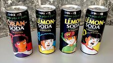 Very Rare Limited Edition Captain Tsubasa Official Yōichi Takahashi 4 Cans Full
