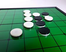 REVERSI (OTHELLO) GAME - MAGNETIC TRAVEL SET - 9½ inch BOARD (827)