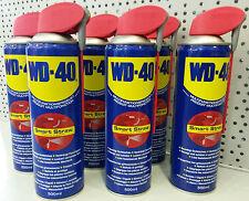 6x 500ml WD-40 Smart Straw Multifunktionsöl Rostlöser Pflegespray Silikonfrei