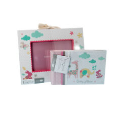 Lovely Baby Girl's Gift Set-Baby Photo Frame & Baby Photo Album-ONE ONLY - BB53