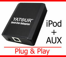iPod iPhone Aux Adapter Toyota Auris Corolla E110 E120 Yaris P1 XP9 Verso MR2