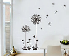 Wallpaper Decor Dandelion Flower Removable Bedroom Home Art Wall Sticker Decal