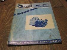 Used ATSG 1990's THM 125 C Techtran Manual book
