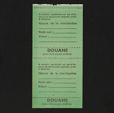 OPC Canada Vintage Douane Customs Booklet Pane of 2 MNH