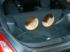 "ZEnclosures 2-10"" Subwoofer Sub Speaker Box for Nissan 370z Coupe"