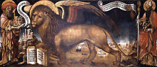 The Lion andante of St. Mark Donato Veneziano Heilige Markus Löwe B A3 01422