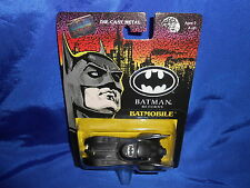 "Batman Returns Batmobile Die-Cast Metal 3 3/4"" Long Sealed ERTL 1992"