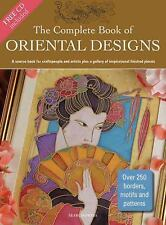 The Complete Book of Oriental Designs Source Book 9781844484416 w/CD 250 motifs