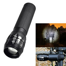3W Bright LED Flashlight Torch Light Lamp Zoomable Focus Waterproof Outdoor Camp
