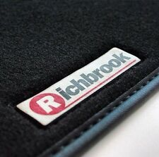 Richbrook Luxury Car Mats for Honda Civic Type R 3dr 07  - Black Leather Trim