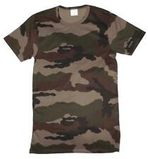 Woodland Camo T Shirt - New Unissued French Army Surplus - Large
