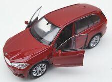 Blitz envío bmw x5 Borgoña Welly modelo auto 1:34-39 nuevo & OVP