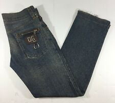 Dolce & Gabbana Men 48 Jeans Classic 14 Zip Pocket Distressed Destroyed 34x33.5
