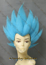 Vegeta Blue Custom Made Cosplay Wig_commission895