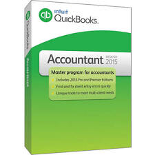 Quickbooks Accountant 2015 (3 installs) w/ FREE upgrade to Premier and Pro