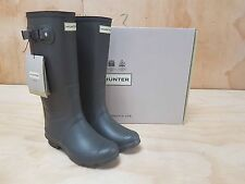 Hunter Wellies Field Huntress Wellington Boots Slate Size 4 UK / 37 EU