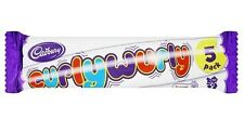 CADBURY CURLY WURLY 5 PACK**BRITISH CHOCOLATE**WILL SEND WORLDWIDE
