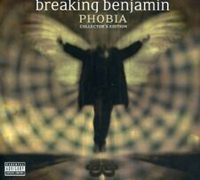 Phobia - Breaking Benjamin (2007, CD NIEUW) Explicit Version2 DISC SET