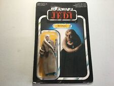 65 Bk Star Wars Rotj Bib Fortunate Palitoy Carded Moc Toy Figure