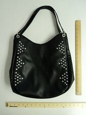Women's LaTique Black Tote Bag Purse Style Ladies Rhinestone