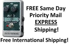 New Electro-Harmonix EHX Iron Lung Vocoder Guitar Effects Pedal!