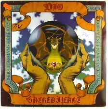 """12"""" LP - Dio - Sacred Heart - A3574 - washed & cleaned"""