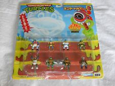 Teenage Mutant Ninja Turtles Mini Turtles Figures - 1989 - Playmates - VERY RARE