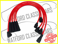 AccuSpark 8mm Triumph TR7 High Performance Ignition HT Leads RED