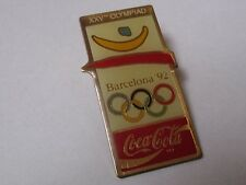 Pin's Coca cola / Jeux olympiques de Barcelone 1992 (XXVe olympiad)