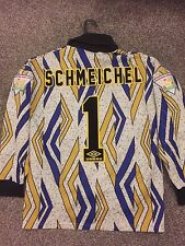 MANCHESTER UNITED RARE VINTAGE 1994/95 GOALKEEPER SHIRT ADULTS(S) 1 SCHMEICHEL