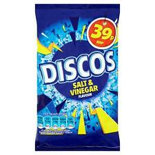 KP Discos Salt & Vinegar Flavour 34g (Full case of 30 packs) *CHEAPEST ON EBAY*