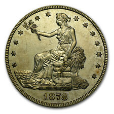 1873-1878 Trade Dollar - Almost Uncirculated