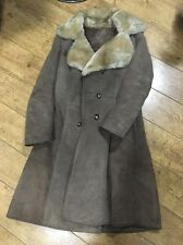 Vintage 70s Genuine Sheepskin Coat Mink Brown Chest 36 Approx Size 10/12