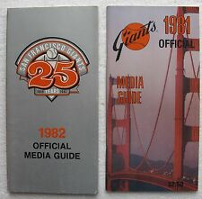 Cracker Jack Old Timers Classic Player List w/Joe DiMaggio + (2) SF Media Guides