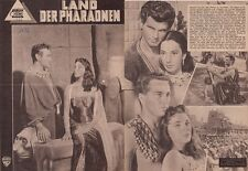 JOAN COLLINS - SALE !! - Original Vintage German Film Brochure PHAROAHS 1956