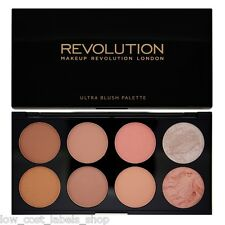Makeup Revolution Blush Bronze Highlight & Contour Powder Palette Hot Spice