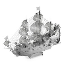 Piececool Metal Puzzles The Queen Anne's Revenge Model DIY 3D Laser Cut Toy =
