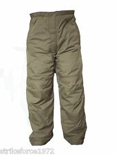 "NEW - Latest Army Issue PCS Thermal Trousers - Size 70/70 SMALL (28-30"" waist)"