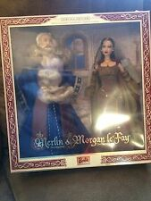 MERLIN AND MORGAN LE FAY BARBIE AND KEN GIFT SET MAGIC & MYSTERY COLLECTION 2000