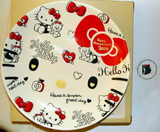 SANRIO Hello Kitty  40th Anniv. HUG DESIGN PLATE  DISH  TABLEWARE MadeIn Japan