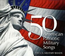 50 American Patriotic Military Songs - Key/Smith/Sous (2011, CD NIEUW)3 DISC SET