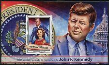 TOGO  2017  100th BIRTH ANNIVERSARY OF JOHN F. KENNEDY SOUVENIR SHEET MINT NH